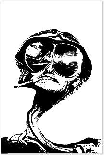 Fear And Loathing In Las Vegas Movie Poster - Hunter S Thompson Minimalist Art
