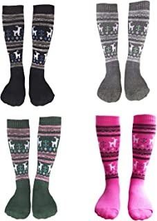Kalakids Ski Socks Kids 1 Pack / 3 Pack Winter Warm Snowboard Thermal Socks For Boys Girls Toddlers (3-13 Years Kids Xs/S)