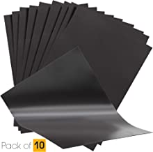 10 hojas magnéticas flexibles A4 de 0,4 mm para troqueles / cortes / manualidades / hechizos