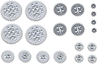 LEGO 20pc Technic 8 16 24 40 tooth gear set (Mindstorms nxt robot rcx lot pack)