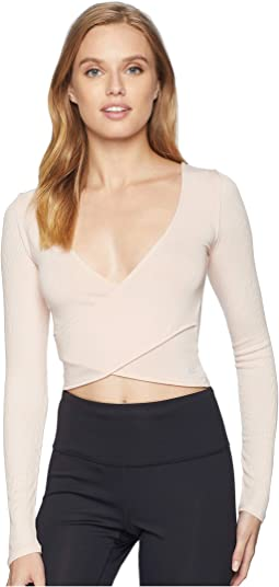 49d04992095 ALO. Amelia Luxe Long Sleeve Crop. $67.95. 5Rated 5 stars out of 5. Nectar