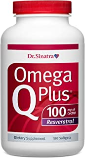 Sponsored Ad - Dr. Sinatra's Omega Q Plus 100 Resveratrol – Omega-3 Supplement Supports Healthy Blood Flow, Blood Pressure...