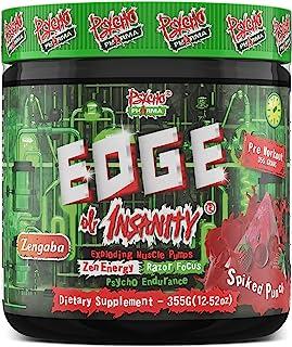 New Perfect Powders with Zengaba Energy Feel Good Focus #1 Strongest PWO Psycho Pharma Edge of Insanity - Most Intense Wor...