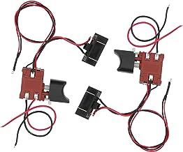 SALUTUYA Interruptor de gatillo de Sierra Regulación de Velocidad Continua con Interruptor de Sierra de luz Interruptor de Control de Sierra Duradero para Sierra de 12V-21V