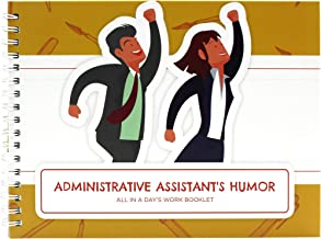 Accountant Gift - Administrative Assistant Gifts. All in a Day´s Edition Booklet - The Perfect Idea for a Present to Recognize Every Professional Work - Comes with a Matching Card and Funny Stickers