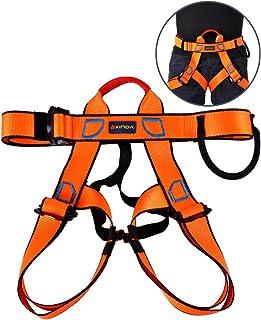Rappel Rescate Dioche Arn/és de Escalada cintur/ón de Seguridad Multiuso Ajustable para Escalada en Roca