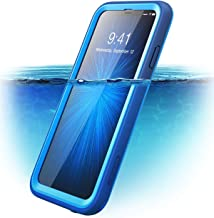 """i-Blason Aegis Waterproof Full-Body Rugged Case Designed for iPhone Xs Max 2018 Release, Frost/Blue, 6.5"""""""