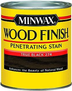 Minwax Wood Finish 700514444, Quart, True Black
