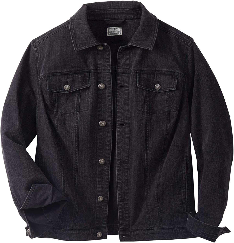 Liberty Blues Men's Big & Tall Denim Jacket