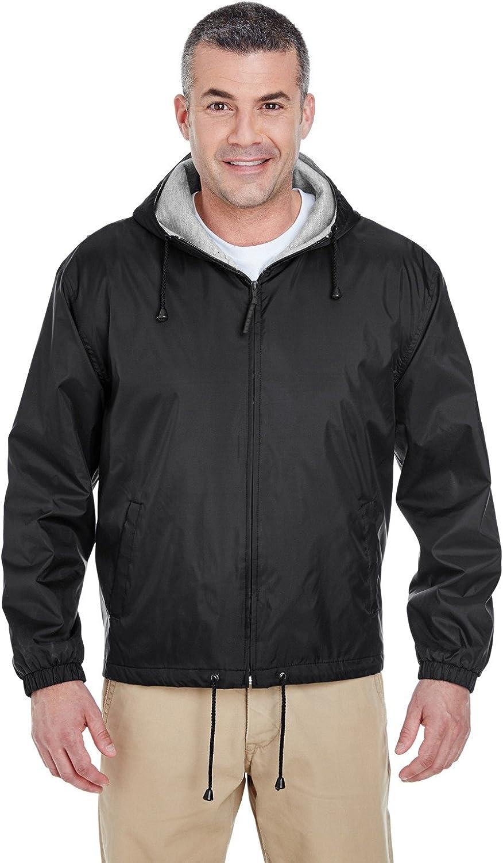 UltraClub mens Vintage Zen Fleece Pullover Hood(8915)
