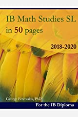 IB Math Studies in 50 pages: 2018-2020 Broché