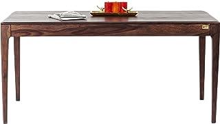 Kare design - Table à manger rectangle bois noyer 175 Brooklyn