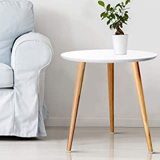 Artiss Wooden Coffee Tables Side Tables - White