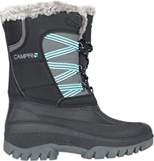 Campri Womens Ladies Snow Boots Lace Up Warm