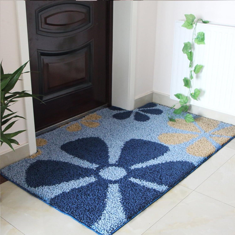 Not-slip door mats living room door mats bathroom water absorption pad-C 120x120cm(47x47inch)