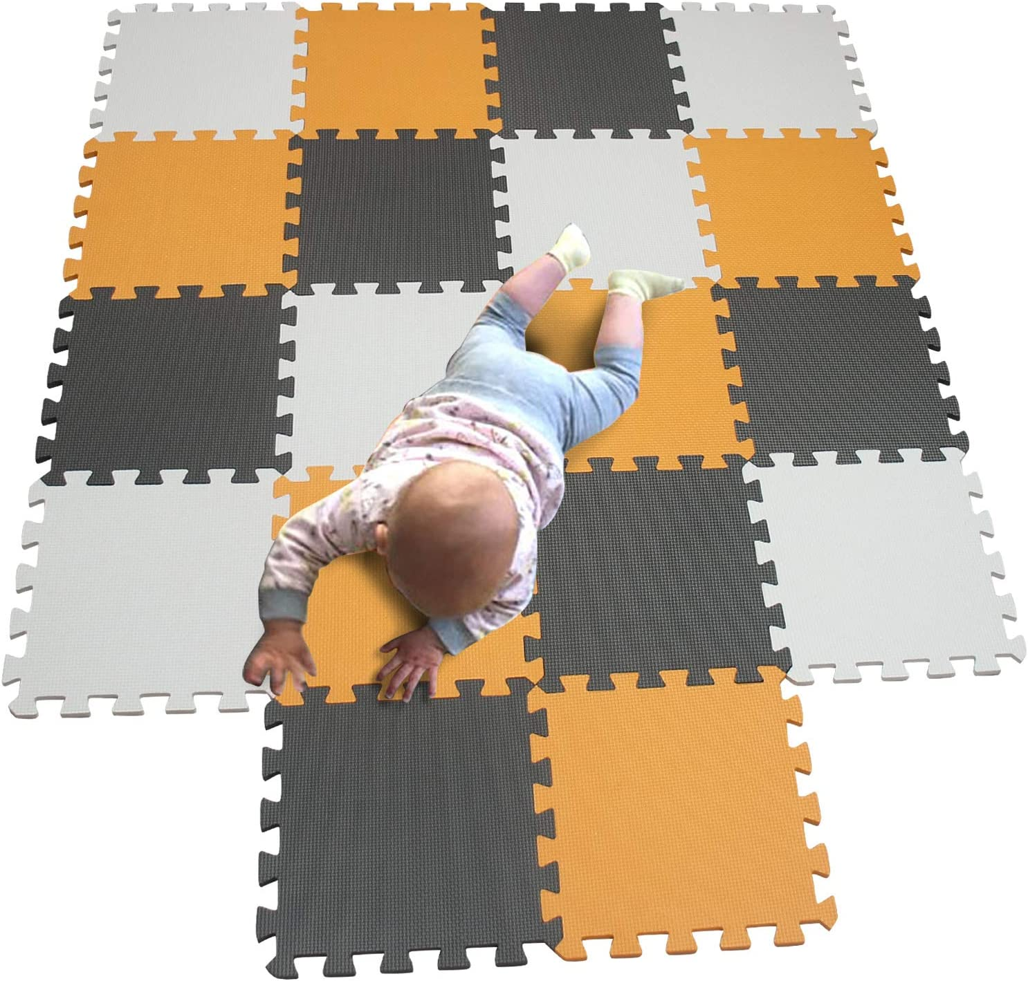 MQIAOHAM Children Puzzle mat Squares Tiles Raleigh Mall Play Bab Clearance SALE Limited time
