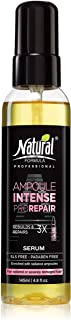 Natural Formula Ampoule Intense Hair Serum   Restore, Nourish & Moisturize Dry, Damaged & Color-Treated Hair 4.8 Fl Oz