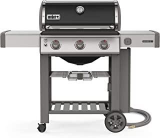 Weber 66011001 Genesis II E-310 3-Burner Natural Gas Grill, Black