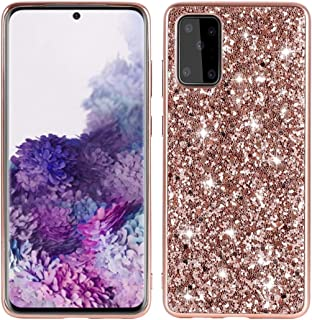LENASH För Huawei P40 PRO Plus Glitter Powder Shocksäker TPU Protective Case Fallskydd (Color : Rose Gold)
