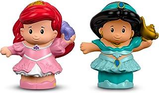 Fisher-Price Little People Disney Princess Ariel & Jasmine Figure