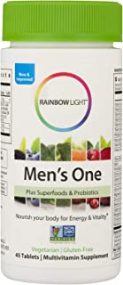 Rainbow Light Men's One Multi, 45-Count
