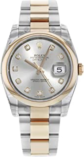 Rolex Datejust Automatic-self-Wind Male Watch 116201 (Certified Pre-Owned)