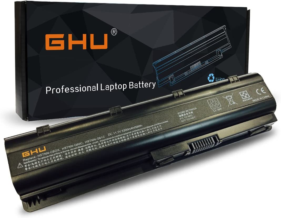 New GHU Battery 58 WH 593562-001 Limited price sale Comp 593553-001 593554-001 MU06 Phoenix Mall