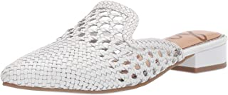 Best white woven mules Reviews