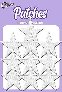 white star applique