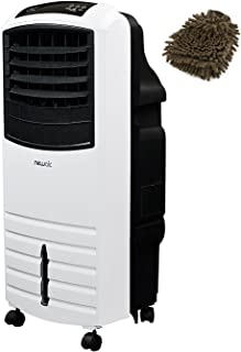 NewAir AF-1000W Portable Evaporative Cooler in White (Complete Set), with Premium Microfiber Cleaner Bundle