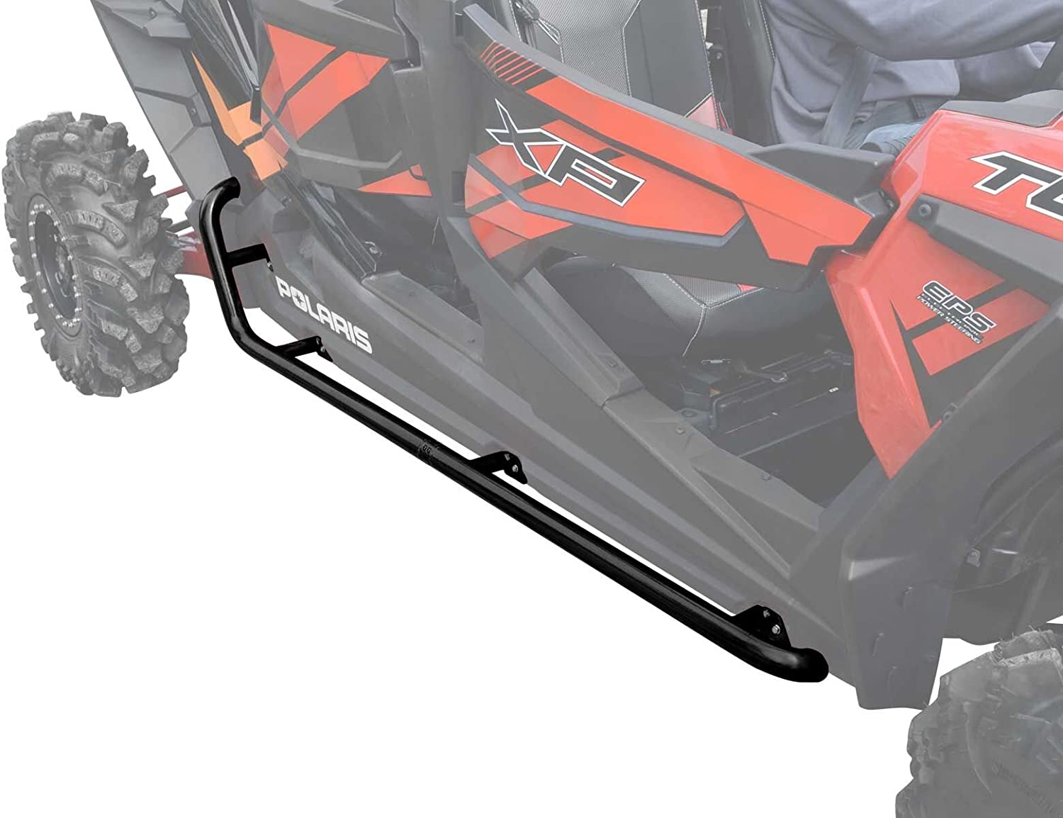 SuperATV Heavy Max 52% OFF Duty Rock Sliding Nerf for XP Bars 4 RZR Limited Special Price Polaris