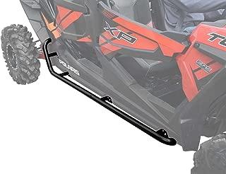 SuperATV Heavy Duty Rock Sliding Nerf Bars for Polaris RZR XP 4 1000 (2014+) - Black