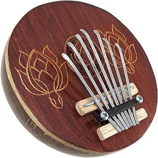 Hand Carved Coconut Kariba Mbira Thumb Piano