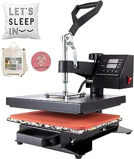 CO-Z Máquina de Prensa de Calor Multifuncional 600W Prensa de Calor con Pantalla LED Máquina de Sublimación para Camiseta/...