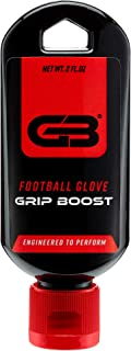 Grip Boost Football Glove Grip Gel Bottle - 2 oz. Bottle - Restores Used Football Gloves Sticky Gel for Football