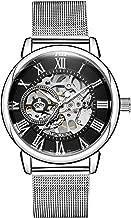 Sweetbless Wristwatch Men's Royal Classic Roman Index Hand-Wind Mechanical Watch