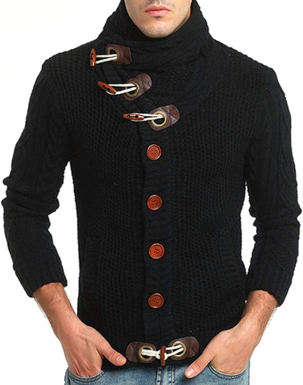 Cardigan Turtleneck Houston Mall Sweater Los Angeles Mall Men Autumn Slim Pullov Casual Winter