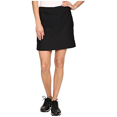 Nike Golf Tournament Skort (Black/Black) Women
