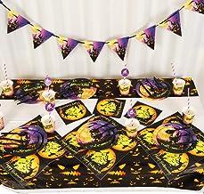 10 Personen Ghost Haunted House Bat Pompoen Halloween Horror Themed Thriller Party Servies Wegwerp Keukengerief Holiday De...