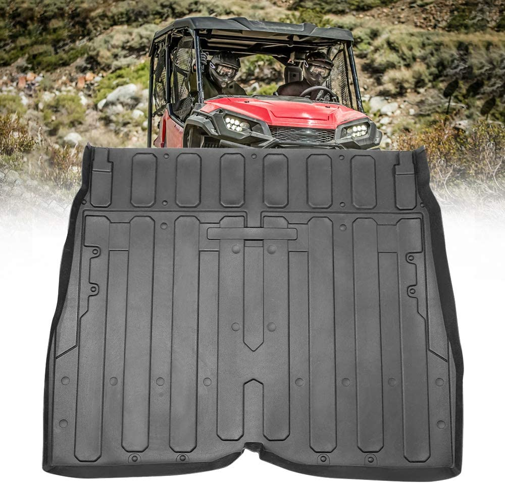 kemimoto Rubber Bed OFFer Mat Liner TPE Cargo Max 83% OFF Rear Comp