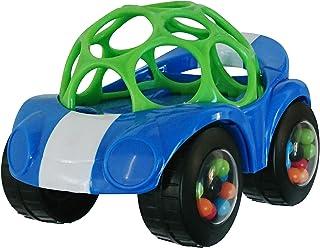 Oball, speelgoedauto met rammelaar, 1 stuks, diverse kleuren