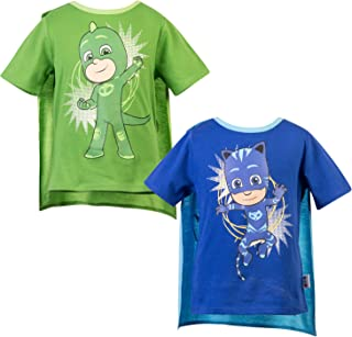 Short Sleeve T-Shirt - 2 Pack of PJMASKS Catboy & Gekko Short Sleeve Headless T-Shirts
