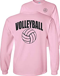 Volleyball Arch Long Sleeve T-Shirt