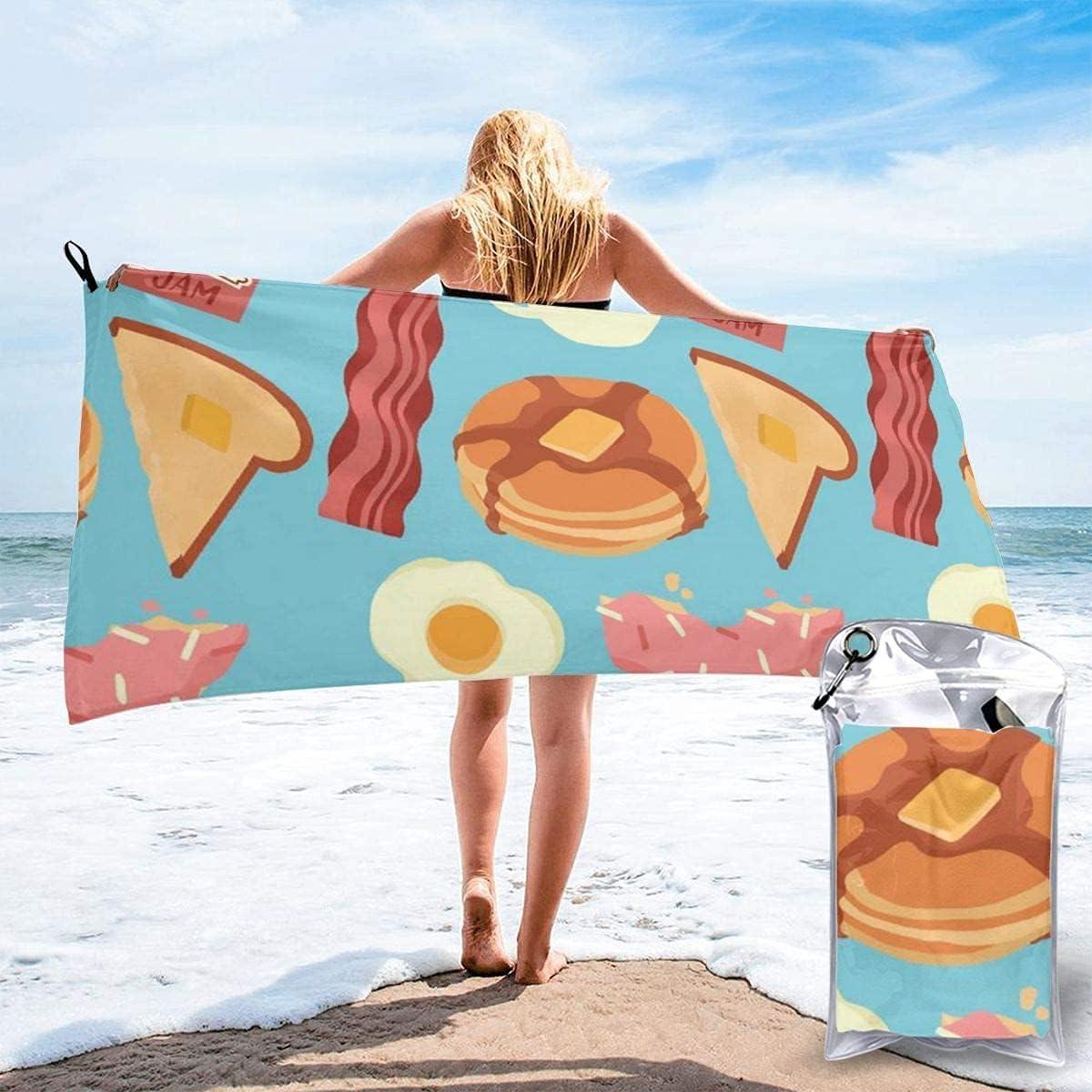 Frightened Giraffe Microfiber Beach Towel Super New life Ab Quick New item Drying