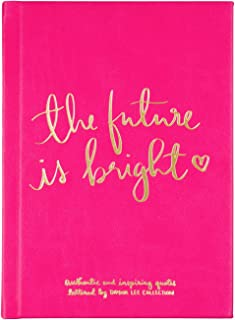 """Eccolo Dayna Lee Collection """"The Future Is Bright"""" Inspirational Journal, Hardcover, 5x7"""""""
