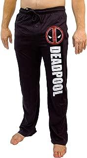 Deadpool Marvel Sleep Lounge Sleep Pants (Medium), Black