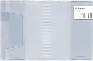 Lサイズ ロルバーンポケット付メモカバー【クリア】リング用 500677