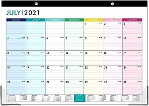2021-2022 Desk Calendar - 18 Monthly Desk/Wall Calendar 2-in-1,16.8