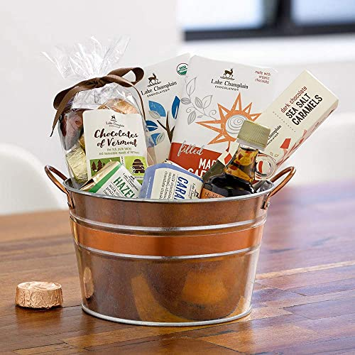 Lake Champlain Vermont Country Assorted Chocolate Gift Basket, 1.2 Pounds
