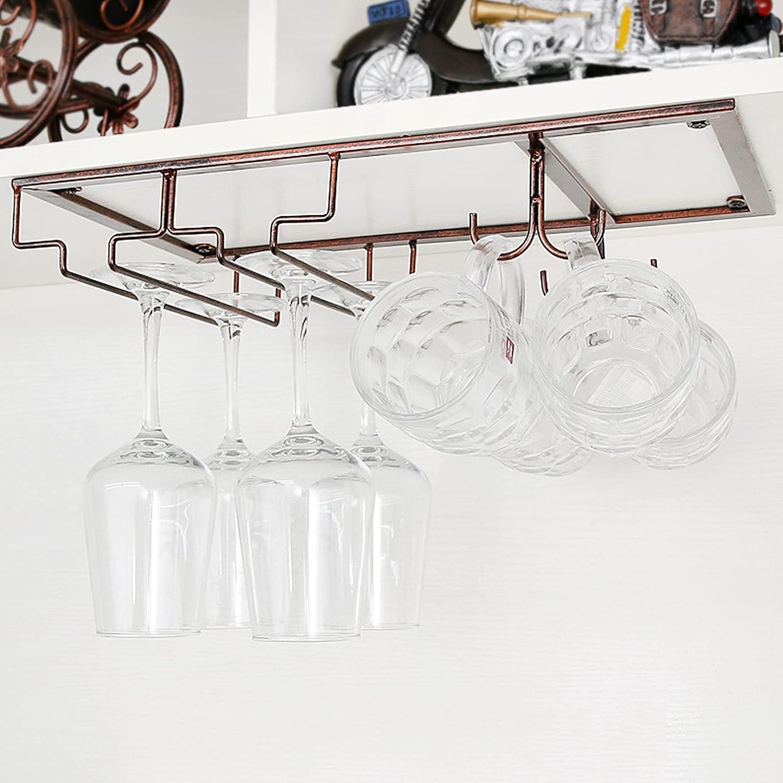 FEXINT Wine Glass Rack Holder Cabinet Under Stemware OFFer Translated